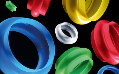 Standard Stock Food Quality Translucent Silicone Rubber Bellows