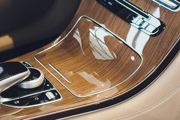 Vac-Sil® membranes from J-Flex creating interior trim panels on high quality vehicle interiors