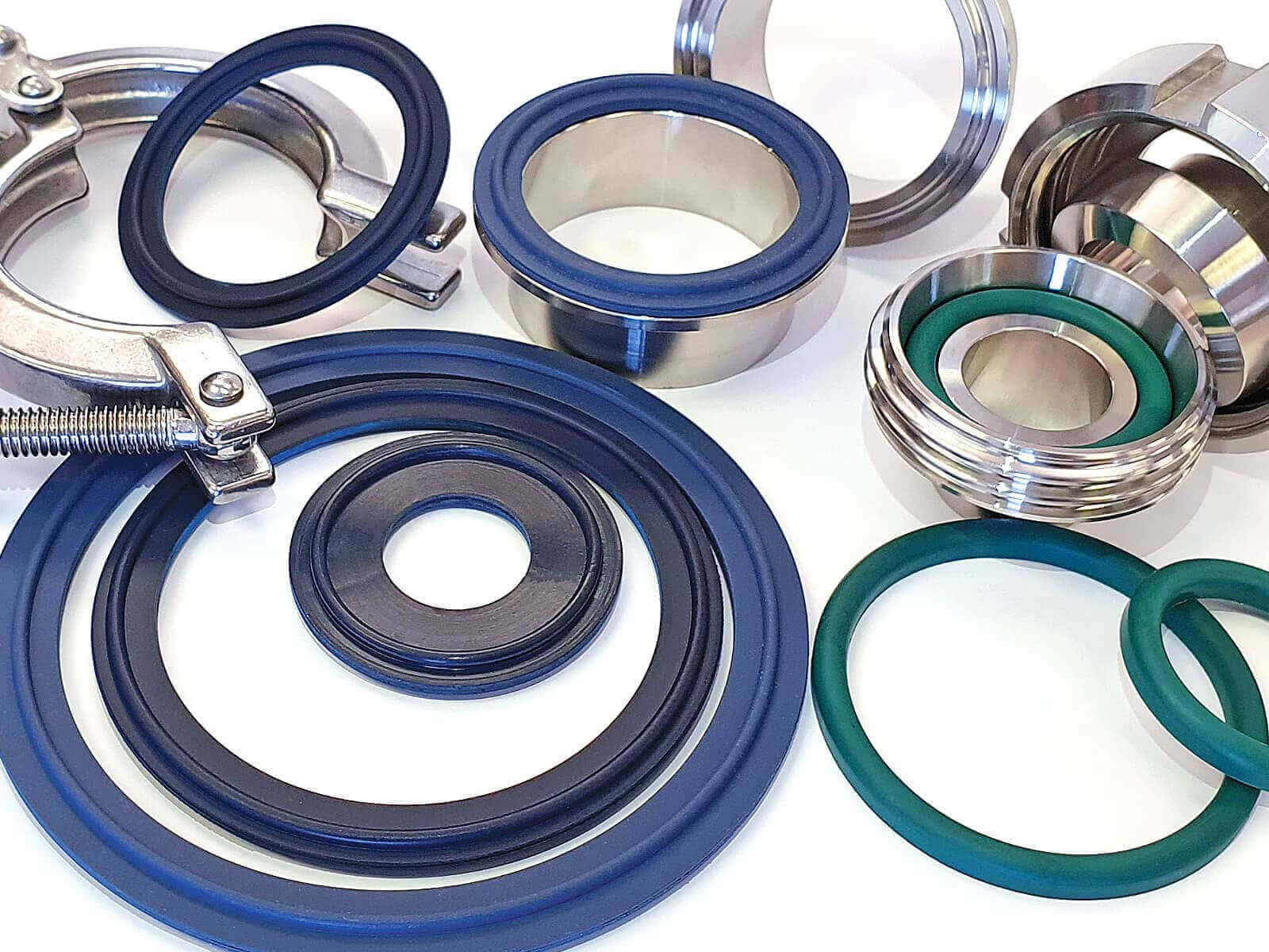 Metal Detectable Rubber Tri-Clover Seals
