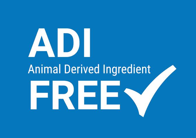 ADI Animal Derived Ingredient Free